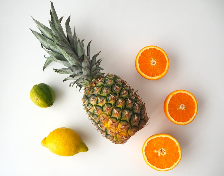 Suosi sokeriherkkujen sijaan hedelmiä.