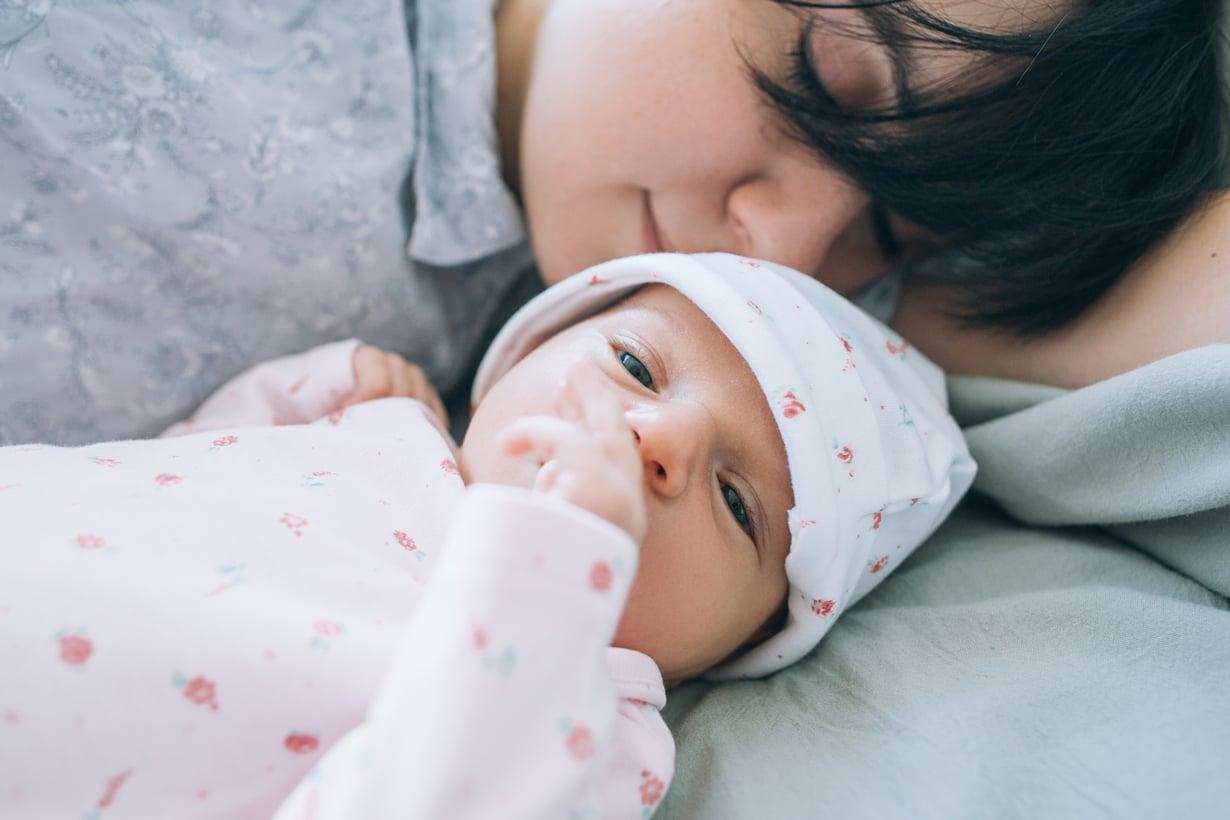 Voi vauvakupla! Jos kerran vielä... Kuva: iStockphoto