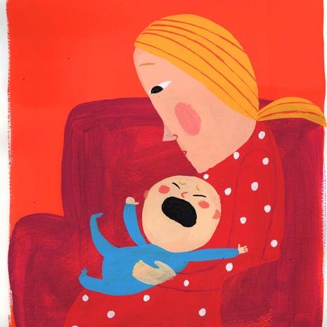 Vauvan Hengitys Vinkuu