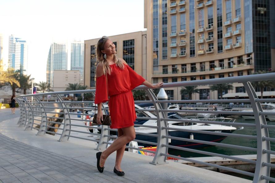 Tämä oli minun toinen kerta Dubaissa. Aivan ihana paikka! Kuva: Eevi Teittinen