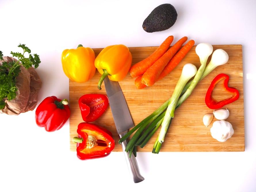 Nauti mahdollisimman värikästä ja tuoretta ruokaa.