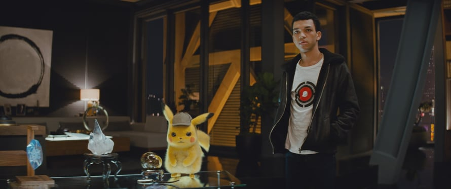 Pokémon Detective Pikachu (2019). Kuva © Warner Bros. Entertainment Inc. All Rights Reserved.
