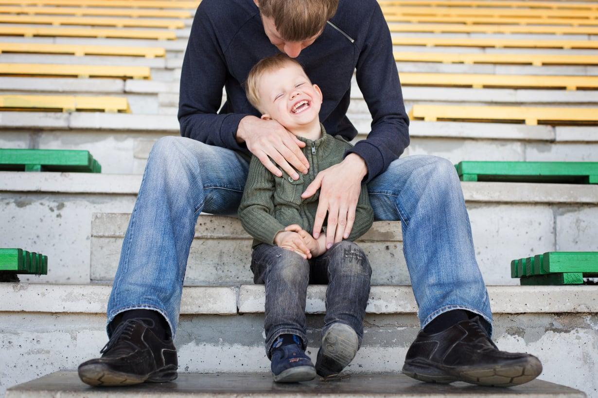 Lapsen itsetunnon kannalta on tärkeää, ettei häntä arvioida hänen kykyjensä perusteella.