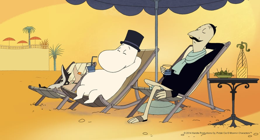 Muumit Rivieralla (2014). Kuva © 2014 Handle Productions Oy, Pictak Cie © Moomin Characters(TM)