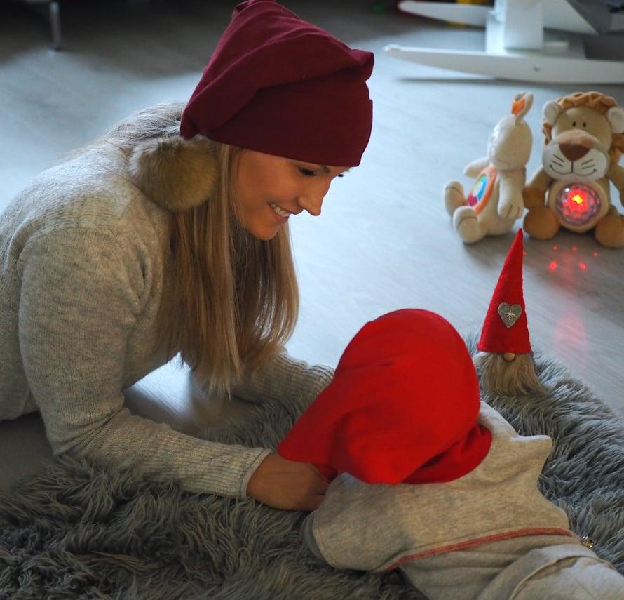 Lapsen saamisen jälkeen juhlapyhistä on tullut entistä tärkeämpiä. Kuva: Elisa Honkasalo