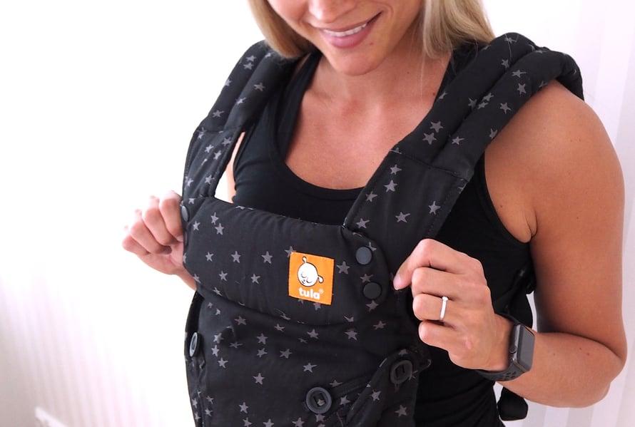 Tula Explore vaikuttaa erittäin helppo käyttöiseltä. Vielä kun vauva syntyisi, niin tämä on varmasti kovassa käytössä.