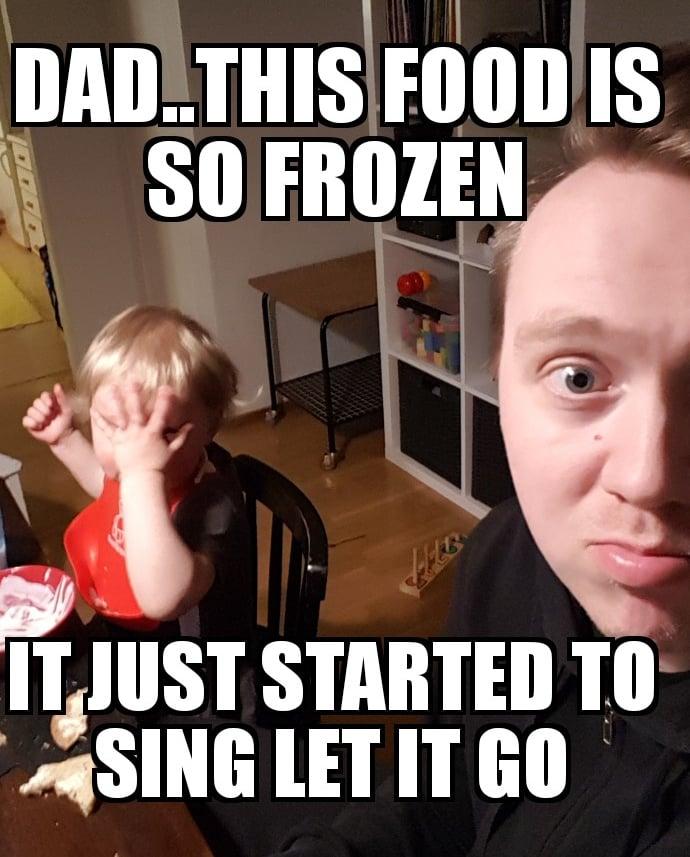 Liian kylmää jogurttia. Kuva: Koti-iskä88