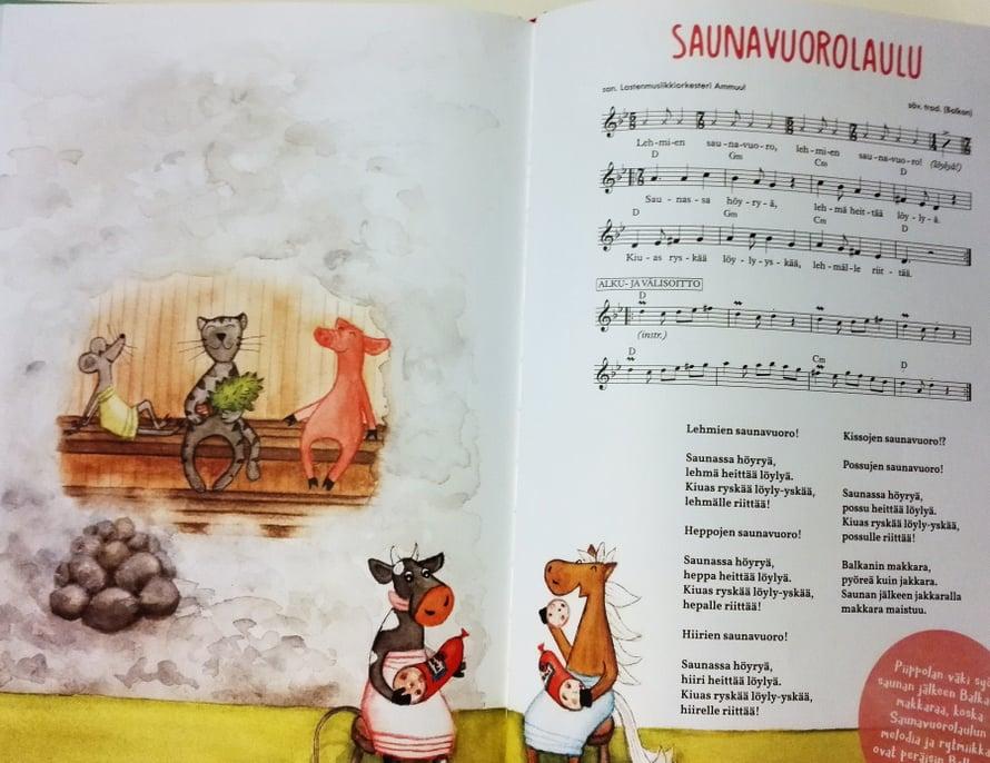 Saunavuorolaulu soi balkanilaisin rytmein.