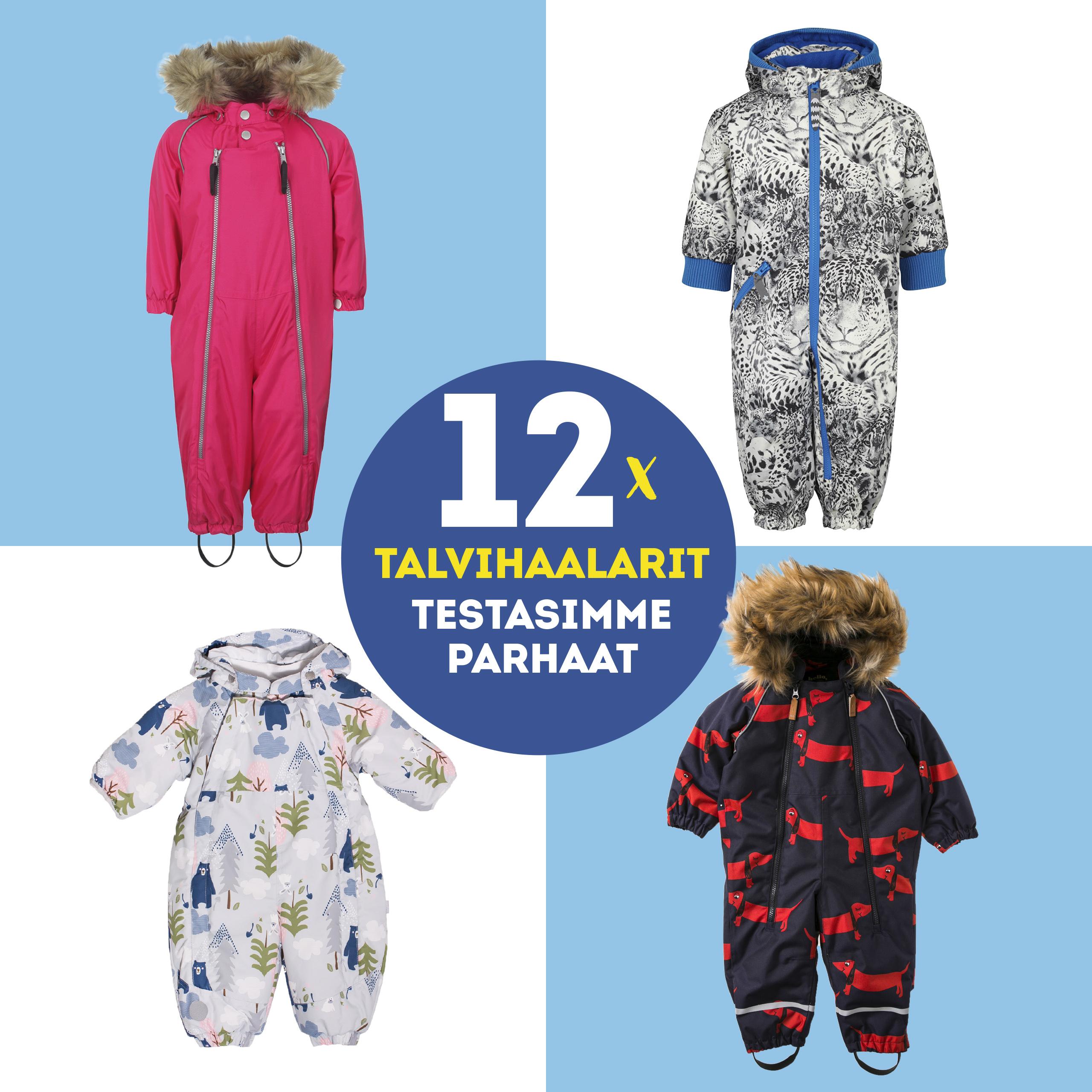 Winter Overall Stavanger, lasten talvihaalari