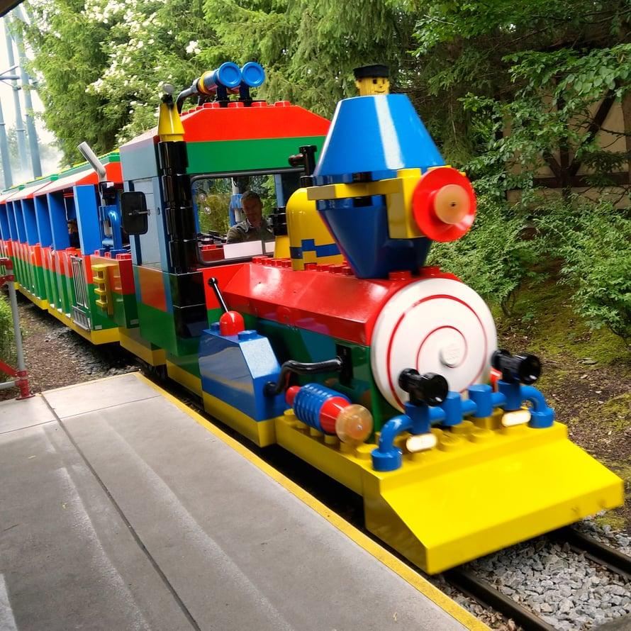 Kaikki laitteet olivat tietysti Lego-teemaisia.