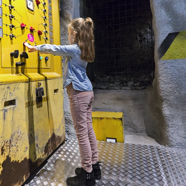 Alle kuusivuotiaat pääsevät ilmaiseksi Tukholman Tekniikan museoon. Kuva: tekniskamuseet.se